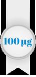 100 mikrogrammaa