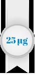 25 milligrammaa